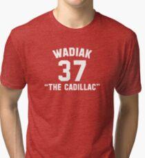 "Steve Wadiak ""The Cadillac"" Tri-blend T-Shirt"