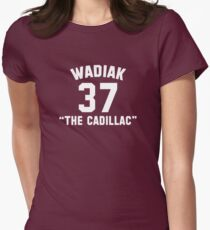 "Steve Wadiak ""The Cadillac"" Womens Fitted T-Shirt"