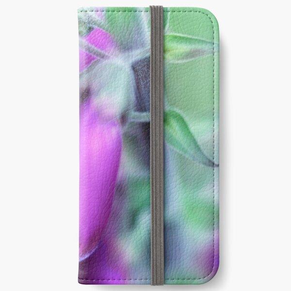 Wild Foxglove iPhone Wallet