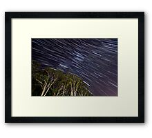 Startrail | Pardon Place Framed Print