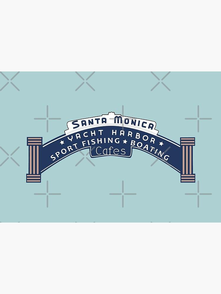 Santa Monica Yacht Harbor by CM-PD