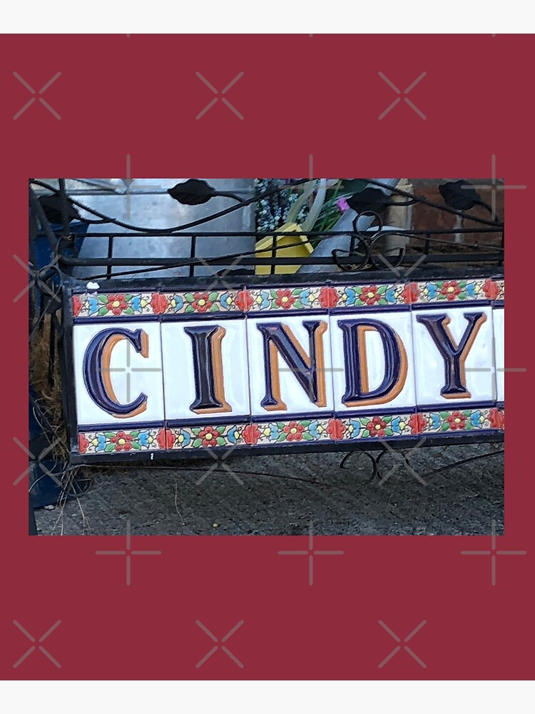 Cindy, A gift for Cindy, Cindy sticker by PicsByMi