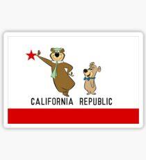 Yogi Bear California Sticker