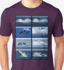 Humpback Whales Breaching 1 Unisex T-Shirt