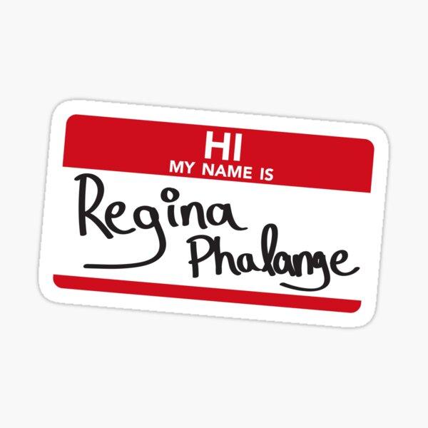 Hallo, ich bin Regina Phalange Sticker