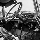 Monochrome Truck Cockpit by axemangraphics