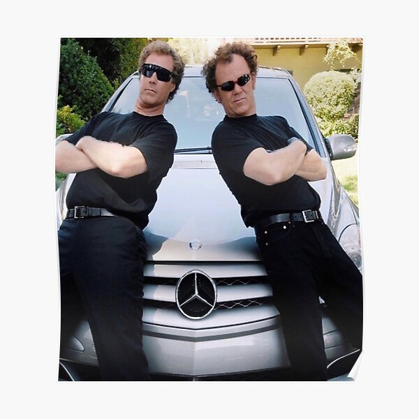 Step brothers Mercedes poster and print  Poster