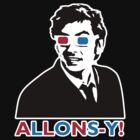 Allons-y! in black by plasticdoughnut