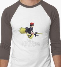 Kiki's Delivery Service-Studio Ghibli Men's Baseball ¾ T-Shirt