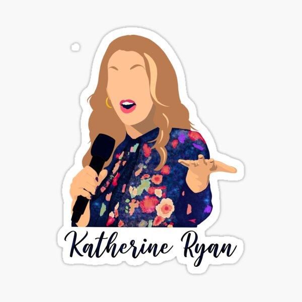 Katherine Ryan Minimalist Sticker