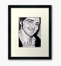 Lee PACE, irresistible smile Framed Print