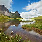 Idyllic Alps by Michael Breitung