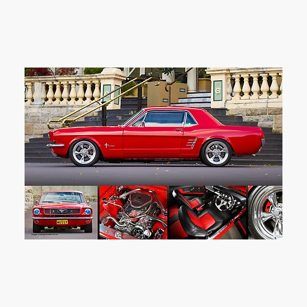 Keith Keily's 1966 Ford Mustang Coupe - Poster Photographic Print