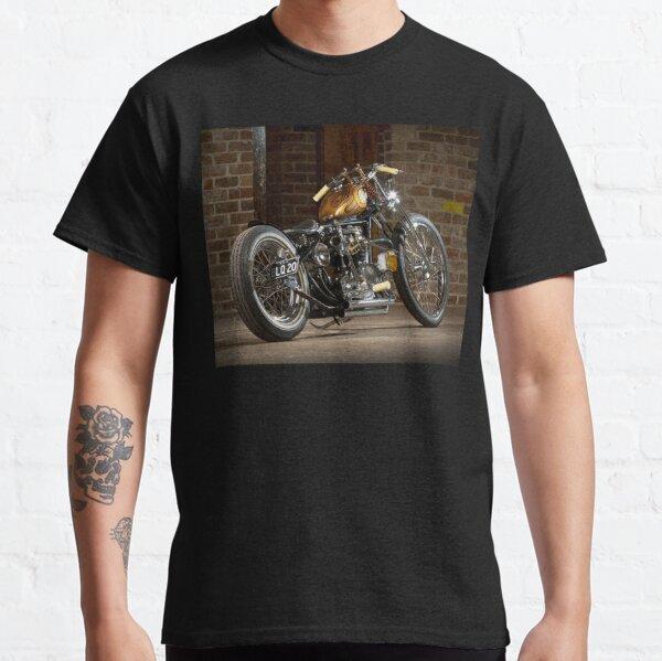 Stuart's Retro Triumph Bobber Classic T-Shirt