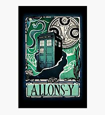 Dr. Who Nouveau Photographic Print
