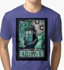Dr. Who Nouveau Tri-blend T-Shirt