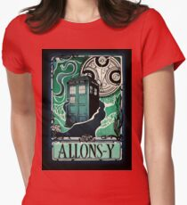 Dr. Who Nouveau Womens Fitted T-Shirt