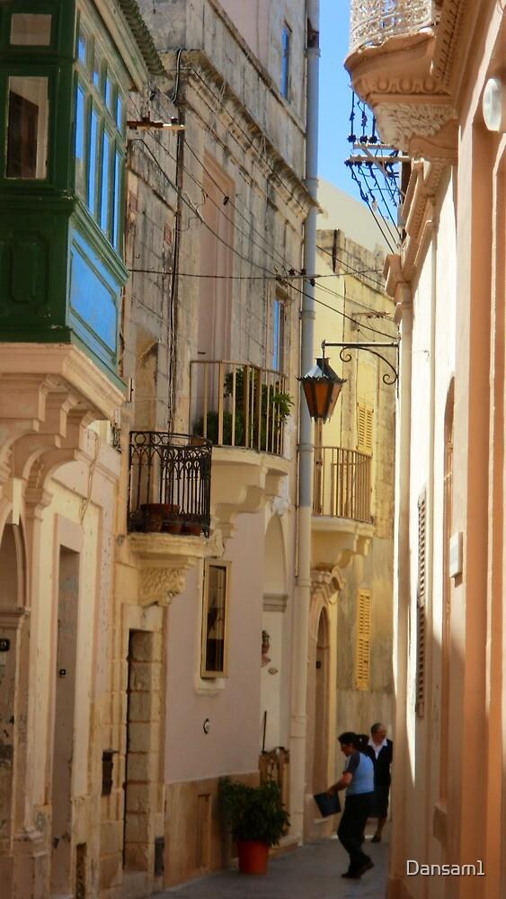 Maltese Streetscape by Dansam1