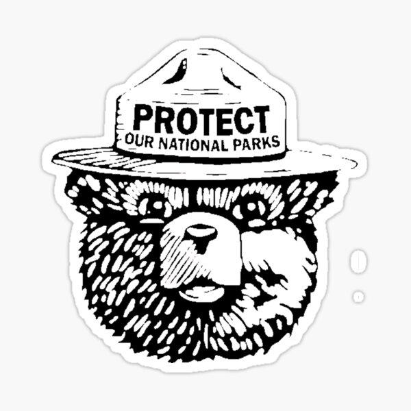 Schützen Sie unsere Nationalparks Sticker