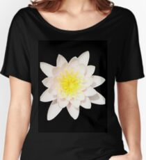Pink Water Lily 2 Women's Relaxed Fit T-Shirt