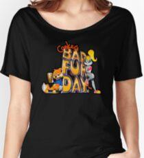 Conker's Bad Fur Day N64 Retro nintendo game fan shirt Women's Relaxed Fit T-Shirt