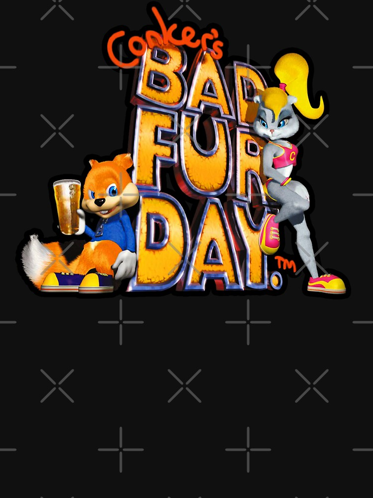 Conker's Bad Fur Day N64 Retro nintendo game fan shirt | Unisex T-Shirt