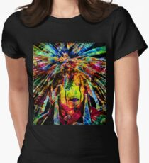 COSMIC WARRIOR Women's Fitted T-Shirt