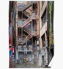 Hosier Lane,  Melbourne 1 Poster