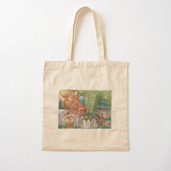 Dragon Day Spa Cotton Tote Bag