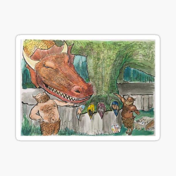 Dragon Day Spa Sticker
