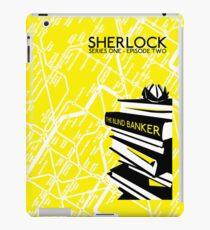 Sherlock - The Blind Banker Episode Poster iPad Case/Skin