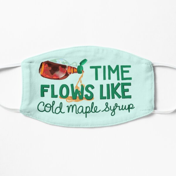 Time Flows Like Cold Maple Syrup Mask