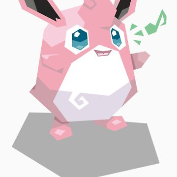 Cutout Wigglytuff by Avertis