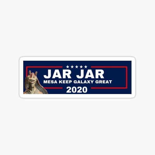 Jar Jar 2020 Sticker