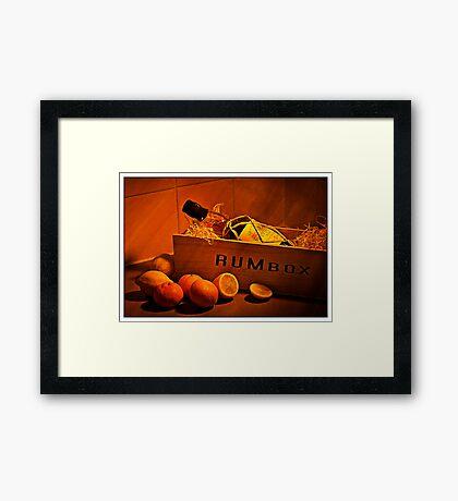 Quality Rum Fine Art Framed Print
