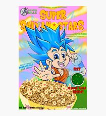 super saiyan stars Photographic Print