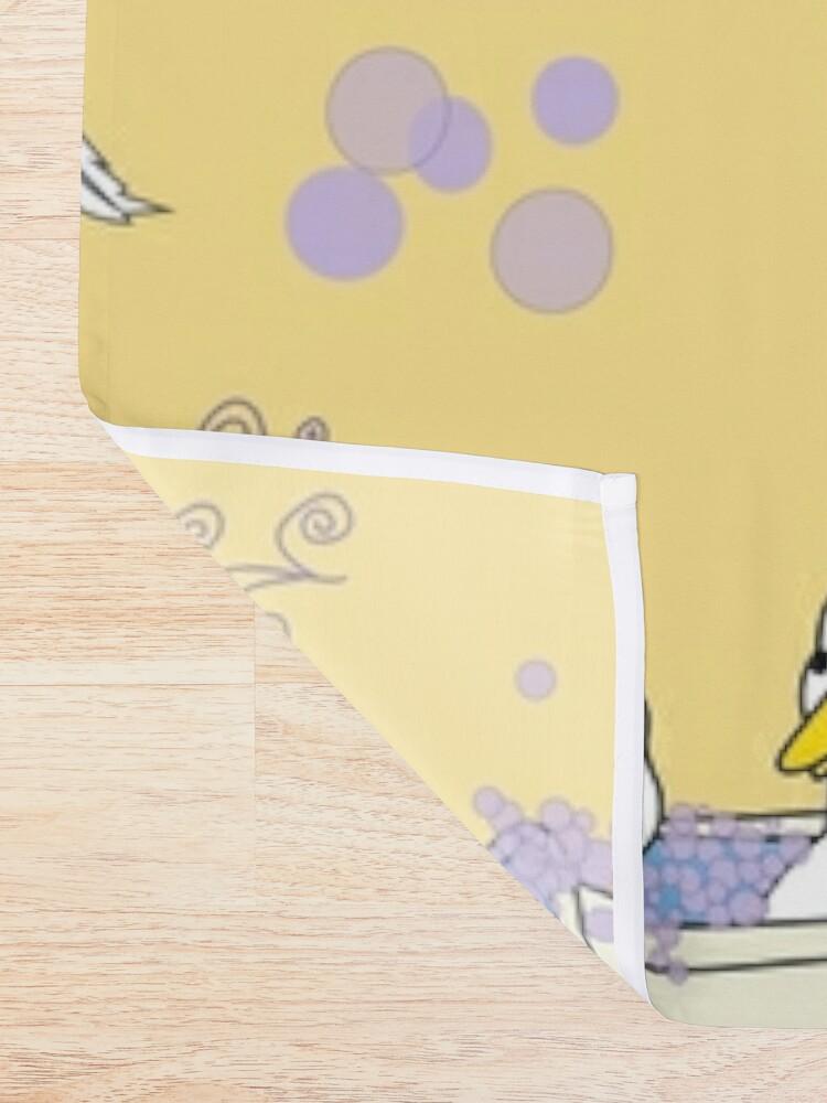 Alternate view of Rub a Dub Ducks in a Tub Shower Curtain