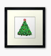 Holly Tree Framed Print