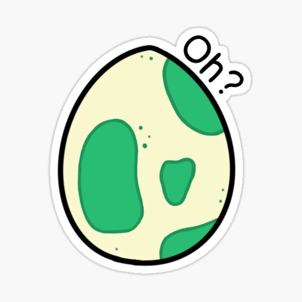 Oh? Egg Sticker