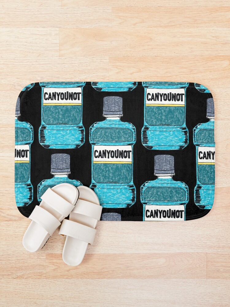 Alternate view of Can You Not Bath Mat