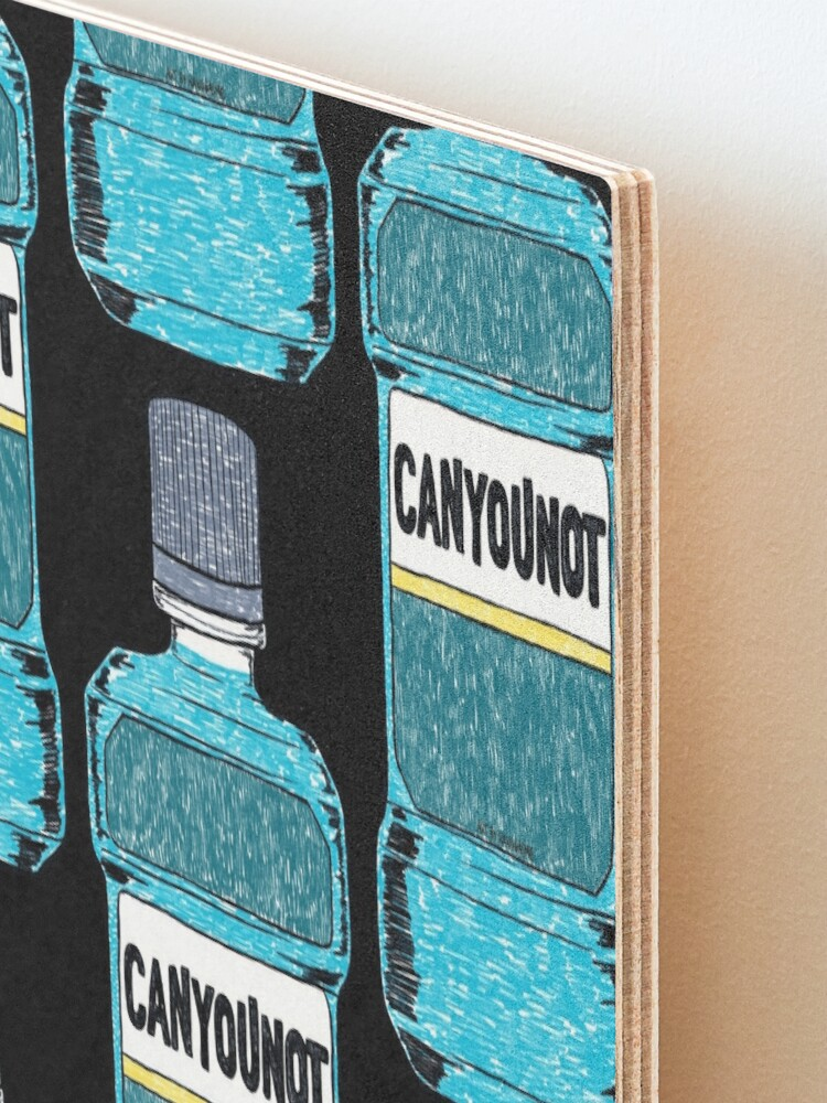 Alternate view of Can You Not Mounted Print