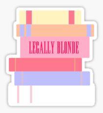 Legally Blonde Sticker