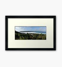 Bremer Bay sand bar Framed Print