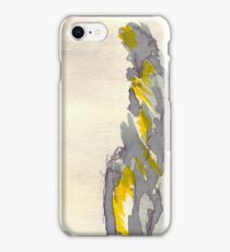 Yellow to Grey iPhone Case/Skin