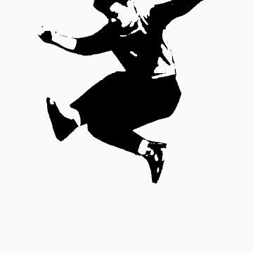 man dancing eighties new wave by svatopluc
