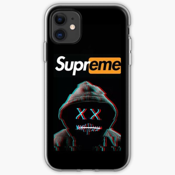 Supreme Mask Labeled iPhone Flexible Hülle