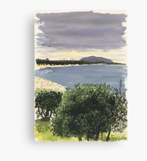 Cabbage Tree Island, Hawks Nest Canvas Print