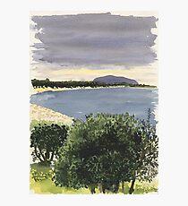 Cabbage Tree Island, Hawks Nest Photographic Print