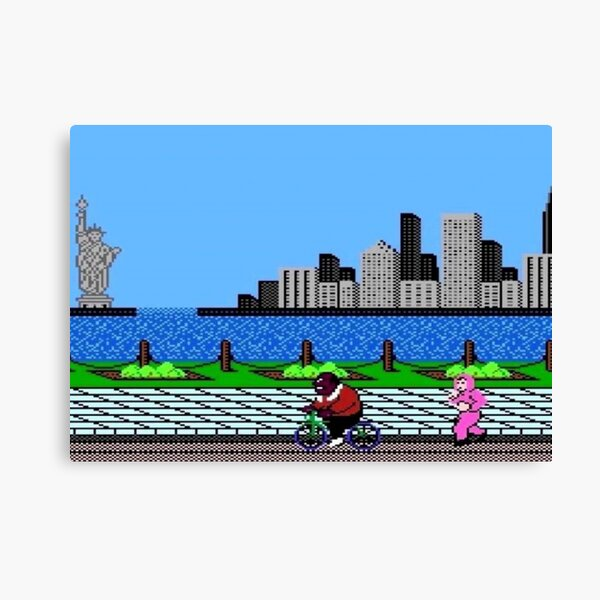 Day Jog - Punch Out Canvas Print