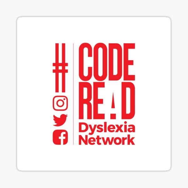 Code REaD White/Red Sticker